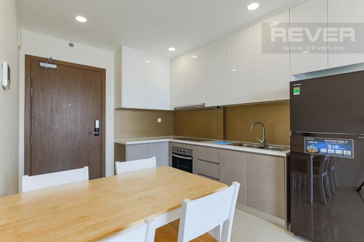Phòng Bếp Cho thuê căn hộ Masteri Millennium tầng cao, 2PN, đầy đủ nội thất, view sông