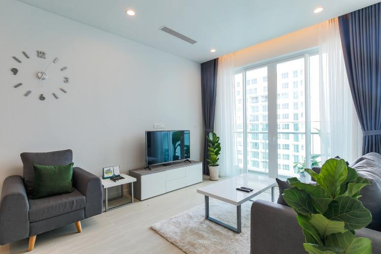 Cho thuê căn hộ Sadora Sala Đại Quang Minh 88m2, nội thất tiện nghi, view hồ bơi