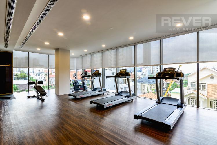 Phòng Gym Căn hộ Nassim Thảo Điền tầng cao, tháp A, 2 phòng ngủ, view sông