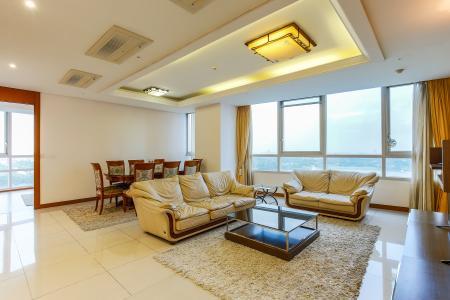 Căn hộ Xi Riverview Palace 3 phòng ngủ tầng trung block 101 nội thất có sẵn