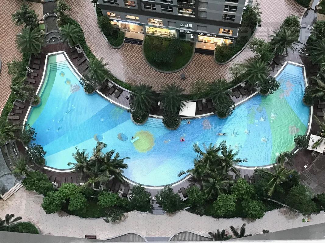 4d776c310bd8ed86b4c9 Cho thuê căn hộ 1 phòng ngủ Vinhomes Central Park, tháp Park 7, đầy đủ nội thất, view sông và công viên