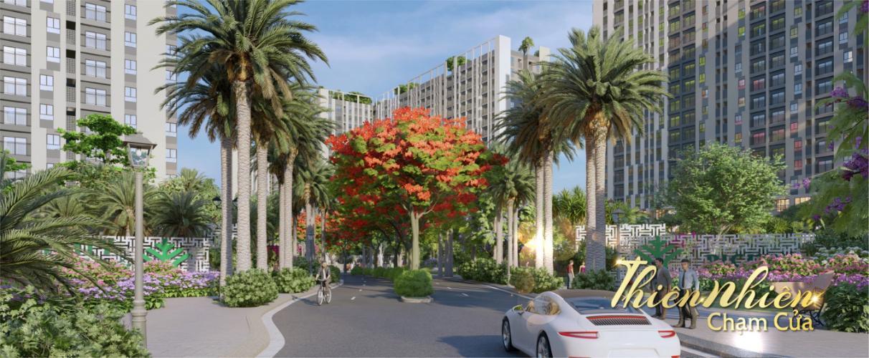 Phối cảnh dự án Picity Bán căn hộ Picity High Park tầng trung, 2 phòng ngủ, diện tích 57.6m2, nội thất cơ bản