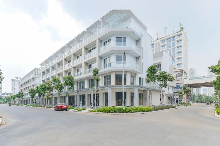Cho thuê căn hộ shophouse Sarimi Sala Đại Quang Minh, diện tích 456m2, bàn giao hoàn thiện bên ngoài