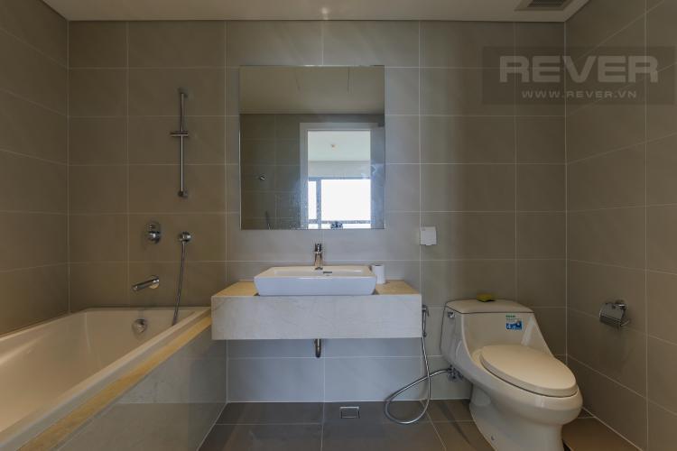 Phòng tắm Cho thuê căn hộ Diamond Island - Đảo Kim Cương 2PN, tầng trung, view sông thoáng mát