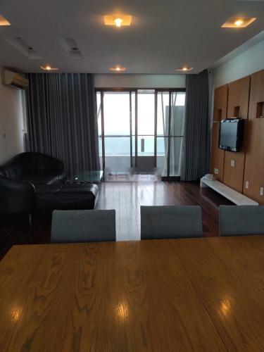 Phòng khách The Panorama, Quận 7 Căn hộ The Panorama đầy đủ nội thất, view sông thơ mộng.