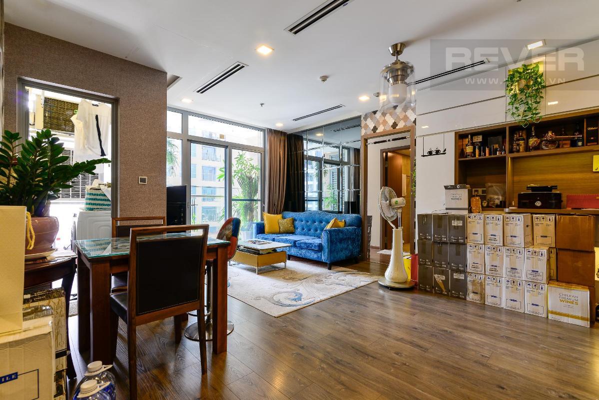 22 Cho thuê căn hộ Vinhomes Central Park 2PN, tháp Park 1, đầy đủ nội thất, view sông thoáng mát