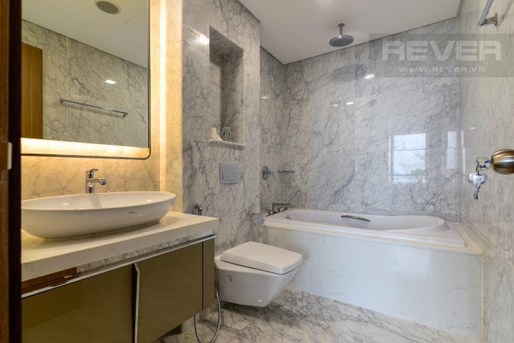 Phòng Tắm 2 Căn hộ Vinhomes Central Park tháp Landmark 81, 4PN 2WC, nội thất đầy đủ