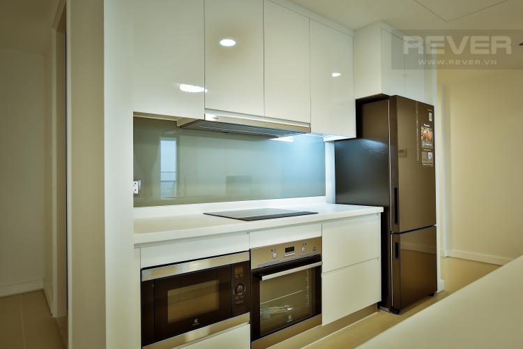 Bếp Căn hộ Gateway Thảo Điền tầng cao, tháp Aspen, 2PN đầy đủ nội thất