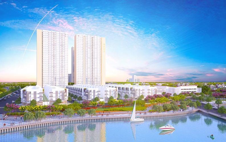 Tổng quan City Gate 3 Căn hộ City Gate 3 nội thất cơ bản 1 phòng ngủ view thành phố  .