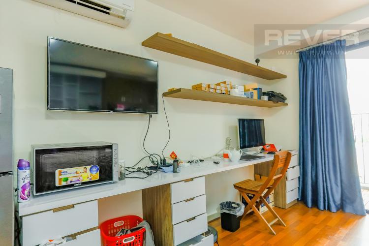 Phòng Làm Việc Căn hộ M-One Nam Sài Gòn 1 phòng ngủ tầng thấp T2 nội thất đơn giản