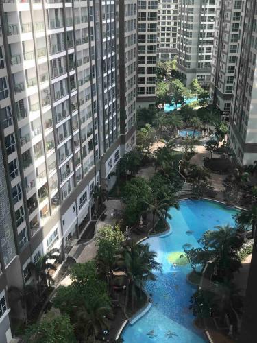 View nội khu từ căn hộ Feliz en Vista Căn hộ Feliz En Vista tầng trung nội thất cơ bản