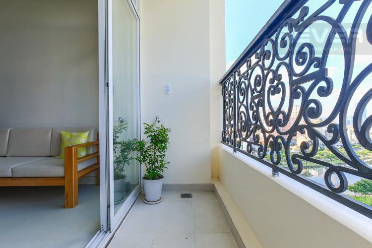 Balcony Bán và cho thuê căn hộ Grand Riverside 1PN, đầy đủ nội thất, view đẹp