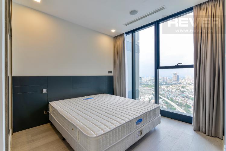 Phòng Ngủ Căn hộ Vinhomes Golden River 1 phòng ngủ tầng cao A3 đầy đủ nội thất