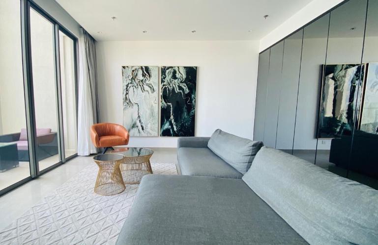 Penthouse Masteri Thảo Điền ban công Đông Nam view sông cực đẹp, nội thất hiện đại