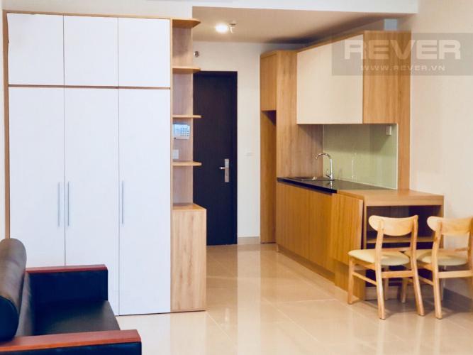 Phòng Bếp Cho thuê căn hộ Sunrise CityView 1PN, tầng thấp, diện tích 38m2, đầy đủ nội thất