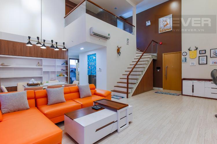 Phòng Khách Cho thuê căn hộ Vista Verde 2 phòng ngủ, diện tích lớn, đầy đủ nội thất