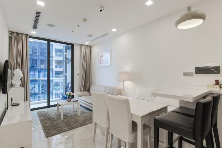 Bán căn hộ Officetel Vinhomes Golden River 1PN, đầy đủ nội thất, view sông Sài Gòn