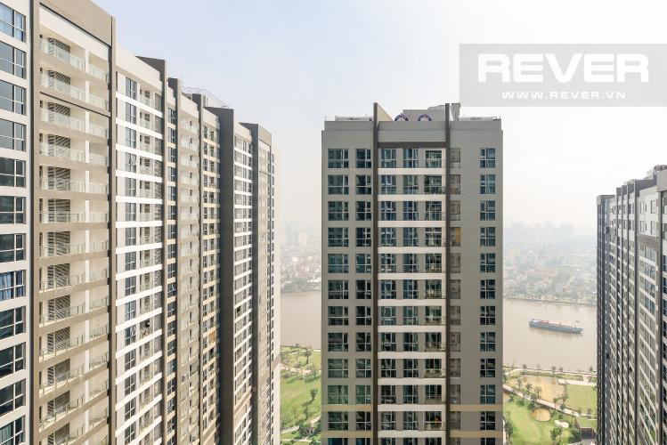 View Officetel Vinhomes Central Park 1 phòng ngủ tầng cao P7 view sông