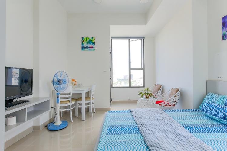 Căn hộ Rivergate Residence Quận 4 tầng thấp 1 phòng ngủ full nội thất