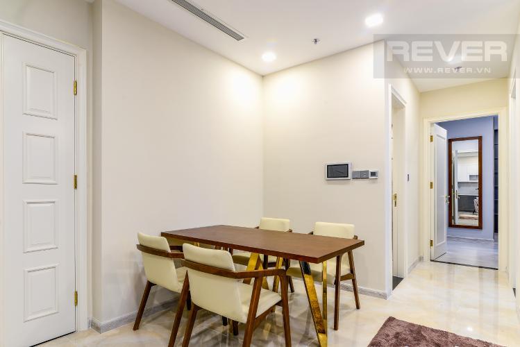 Phòng Ăn Căn hộ Vinhomes Golden River 2 phòng ngủ tầng cao A3 view sông