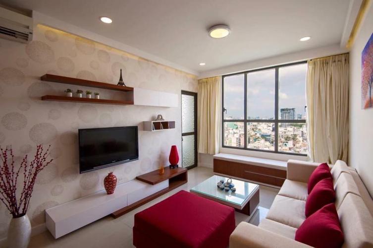Bán căn hộ 3 phòng ngủ Icon 56, tầng cao, diện tích 92m2, đầy đủ nội thất, view sông thoáng mát