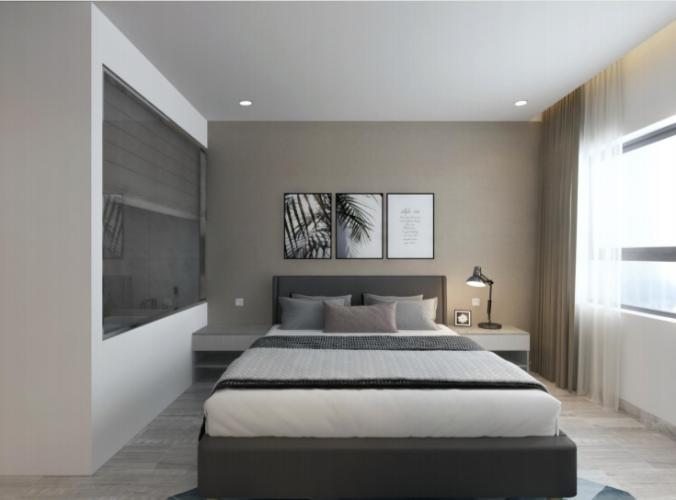 Phòng ngủ căn hộ Riviera Point Căn hộ Riviera Point tầng 28 nội thất đầy đủ, view thành phố tuyệt đẹp.