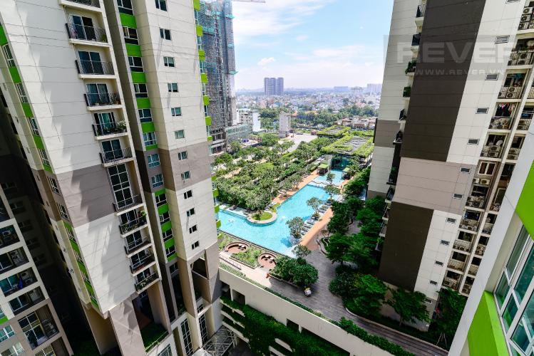View Cho thuê căn hộ Vista Verde 2PN, tầng trung, đầy đủ nội thất, view hồ bơi