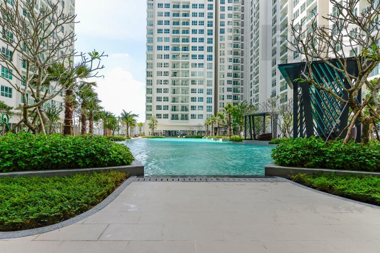 Hồ Bơi Căn hộ Sadora Sala Đại Quang Minh 2PN đầy đủ nội thất, view hồ bơi và công viên