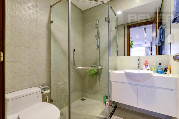 Phòng tắm 1 Căn góc Vinhomes Central Park 3 phòng ngủ tầng cao L1 đầy đủ nội thất