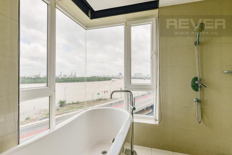 Phòng tắm 1 Căn hộ Diamond Island - Đảo kim cương, tầng thấp, tháp Brilliant, 2 phòng ngủ, view sông