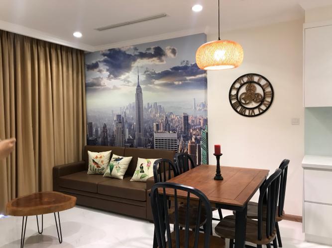 Cho thuê căn hộ Vinhomes Central Park 1PN, tháp Landmark 1, diện tích 49m2, đầy đủ nội thất