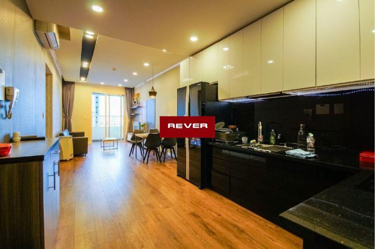 Bếp căn hộ LEXINGTON RESIDENCE Cho thuê căn hộ Lexington Residence 2PN, diện tích 67m2, đầy đủ nội thất, view hồ bơi nội khu