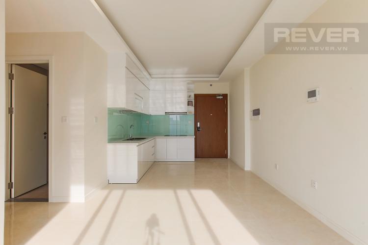 Phòng Khách Căn hộ Masteri Millennium tầng cao view sông, 2PN, nội thất cơ bản