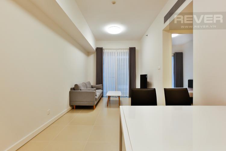 Phòng Khách Căn hộ Gateway Thảo Điền 1PN, đầy đủ nội thất