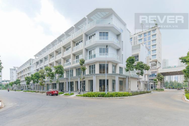 Góc giao lộ Cho thuê căn hộ shophouse Sarimi Sala Đại Quang Minh, diện tích 456m2, bàn giao hoàn thiện bên ngoài