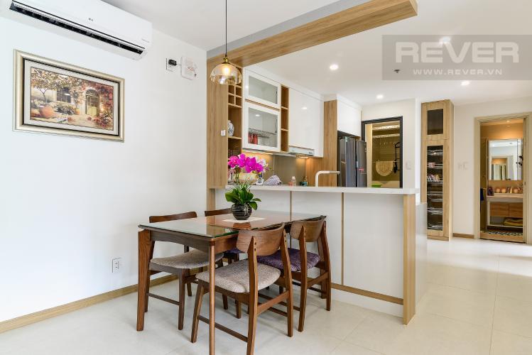 Phòng Ăn & Bếp Cho thuê căn hộ New City 60m2 3PN 2WC, view nội khu, nội thất tiện nghi