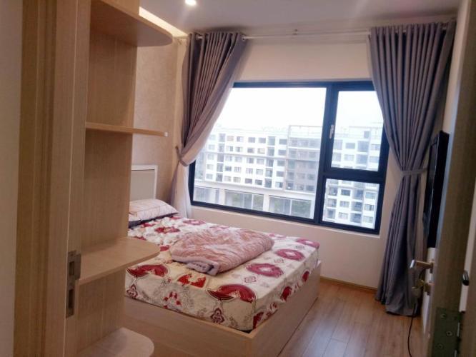phòng ngủ Căn hộ New City Thủ Thiêm tầng trung, nội thất đầy đủ.