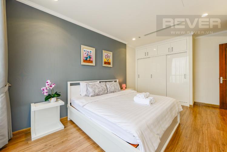 Phòng ngủ 2 Căn hộ Vinhomes Central Park 2 phòng ngủ tầng cao L3 nội thất đầy đủ