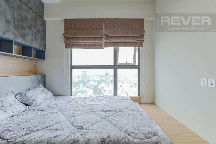 Phòng Ngủ 2 Căn hộ Masteri Millennium tầng cao, view sông, 2PN