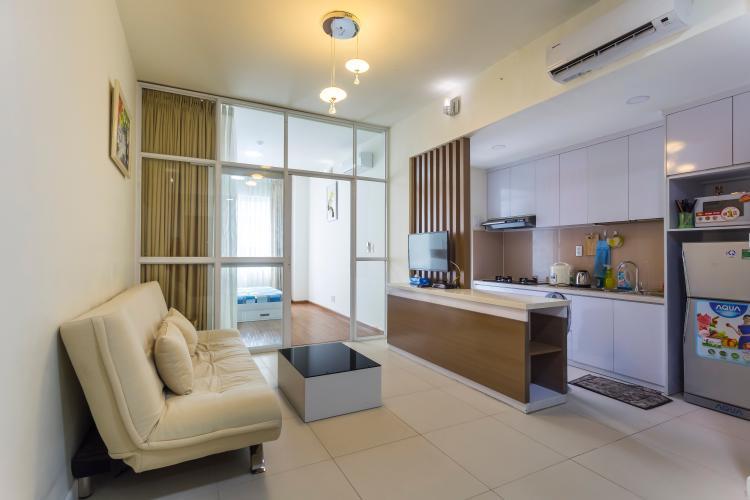 Phòng Khách Bán và cho thuê căn hộ Lexington Residence tầng cao, 1PN, đầy đủ nội thất
