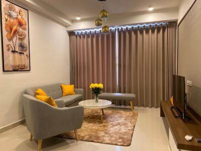 Cho thuê căn hộ The Tresor 2PN 1WC, tháp TS1, đầy đủ nội thất, view kênh Bến Nghé và thành phố