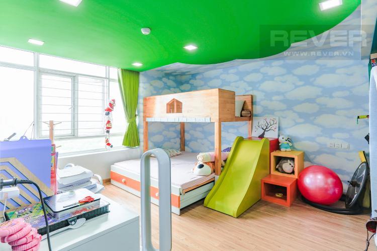 Phòng Ngủ Tầng Trệt Căn hộ Phú Hoàng Anh tầng cao, tháp B, full nội thất