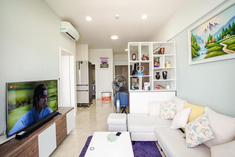 Bán căn hộ Lux Garden 2 phòng ngủ, nội thất đầy đủ, view cầu Phú Mỹ