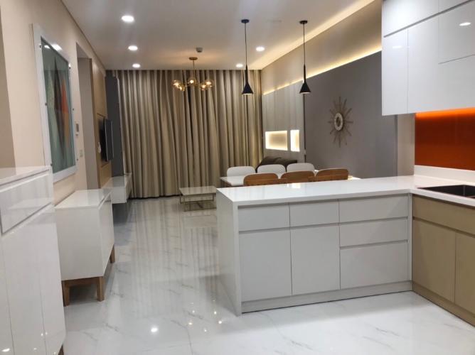 Phòng bếp Sunwah Pearl, Bình Thạnh Căn hộ Sunwah Pearl tầng cao, ban công hướng Đông Bắc.