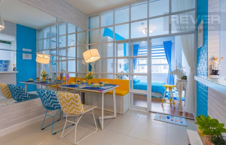 Bàn ăn căn hộ căn hộ LEXINGTON RESIDENCE Cho thuê căn hộ 1PN Lexington Residence, tầng trung, thiết kế trẻ trung, đầy đủ nội thất