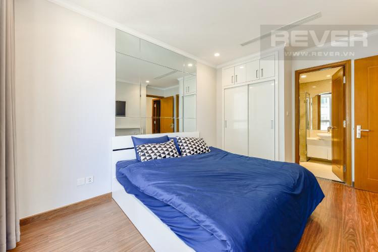 Phòng ngủ 2 Căn hộ Vinhomes Central Park 2 phòng ngủ tầng cao L4 hướng Đông Bắc