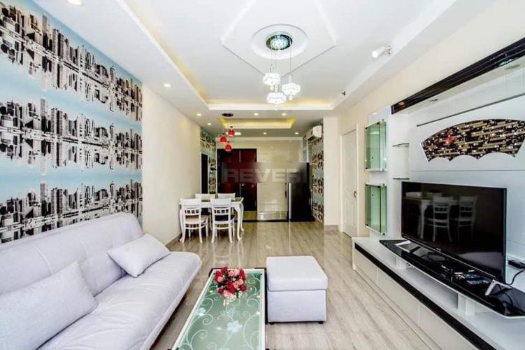 Căn hộ Sunrise City nội thất tiện nghi, thiết kế tone màu xanh lá.