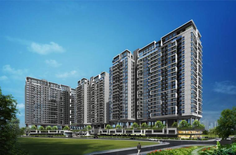 Bán căn hộ One Verandah 2 phòng ngủ thuộc tầng trung, diện tích 78.87m2, không có nội thất