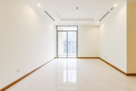 Căn hộ Vinhomes Central Park 2 phòng ngủ tầng cao C3 nhà trống