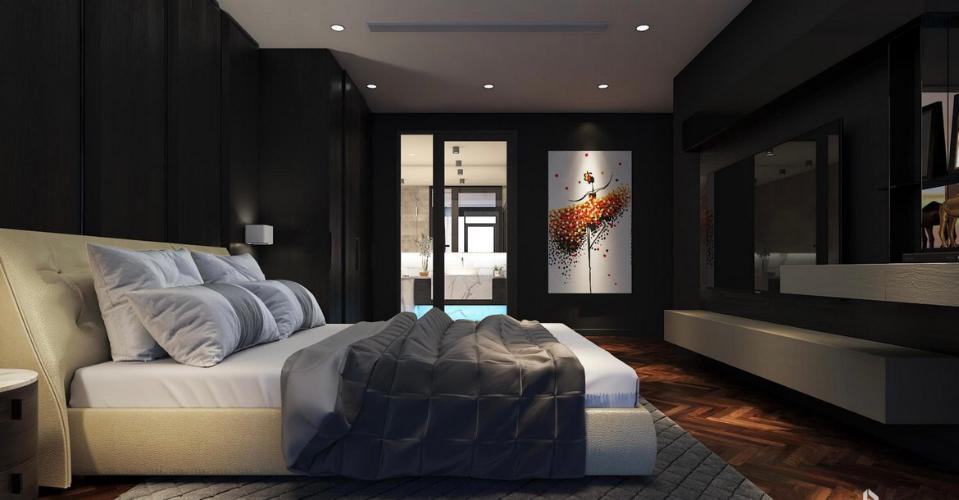 Phòng ngủ Sunshine Diamond River, Quận 7 Căn hộ Sunshine Diamond River tầng trung, nội thất cơ bản.